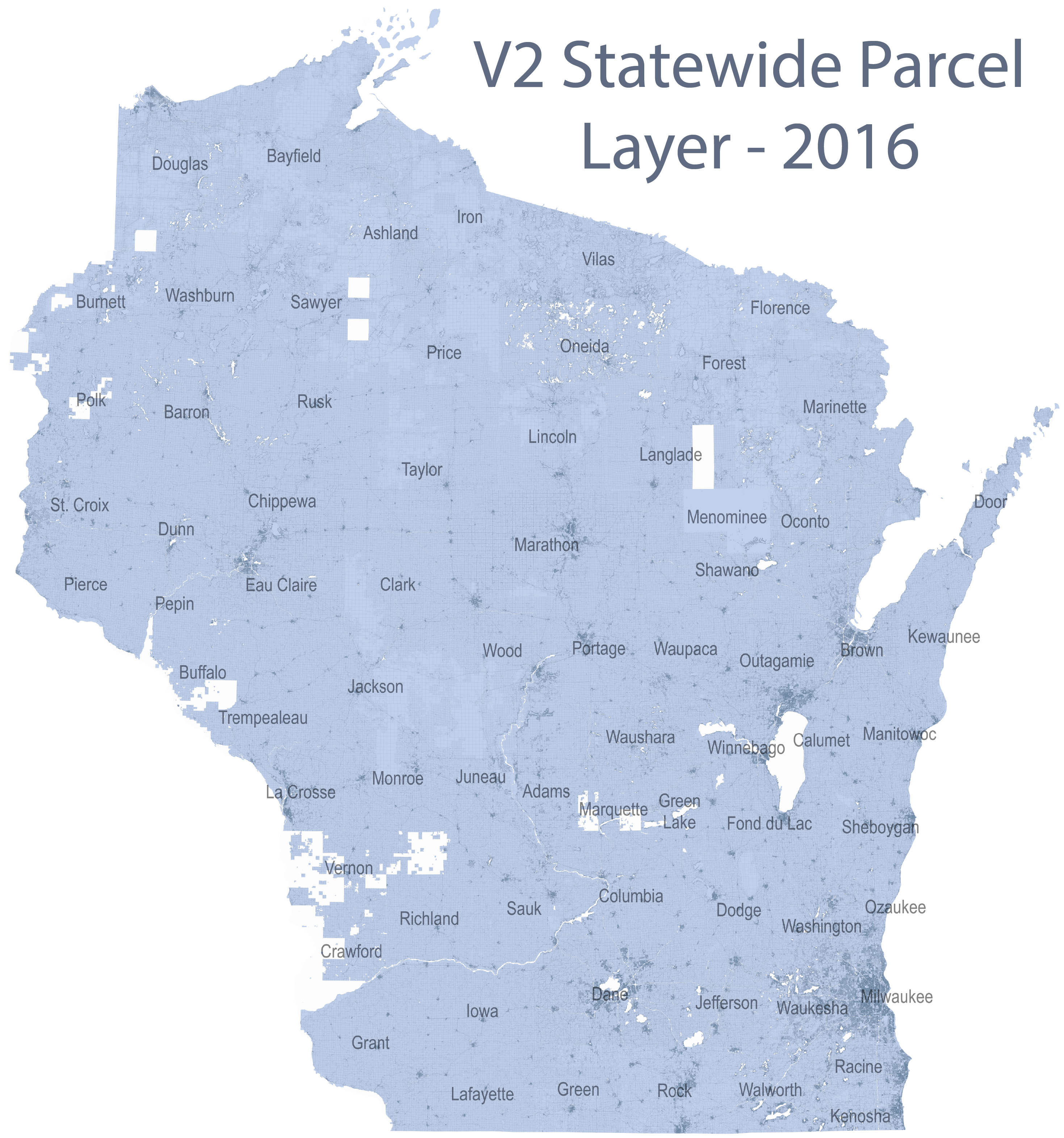 Wisconsin Statewide Parcel Map Initiative Data - Map Door Wi Us
