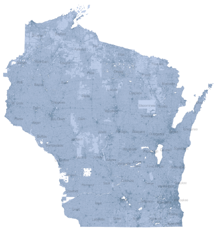 Wisconsin Statewide Parcel Map Initiative Web App
