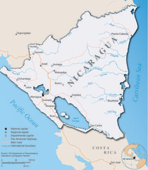 nicaragua map – State Cartographer's Office – UW–Madison on americas map, dominican republic map, russia map, cayman map, peru map, qatar map, guam map, corn islands map, norway map, haiti map, carribean map, india map, cuba map, romania map, sri lanka map, honduras map, panama map, mexico map, puerto rico map, costa rica map,
