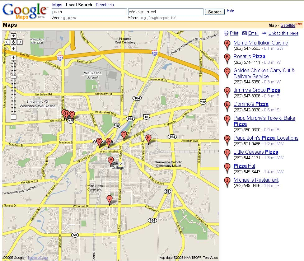 Google Main Office: Google Maps: The Next Generation Of Online Maps