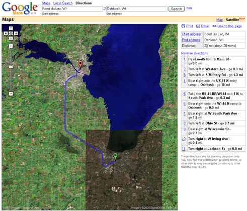 Google Maps The Next Generation Of Online Maps State - Google-maps-western-us