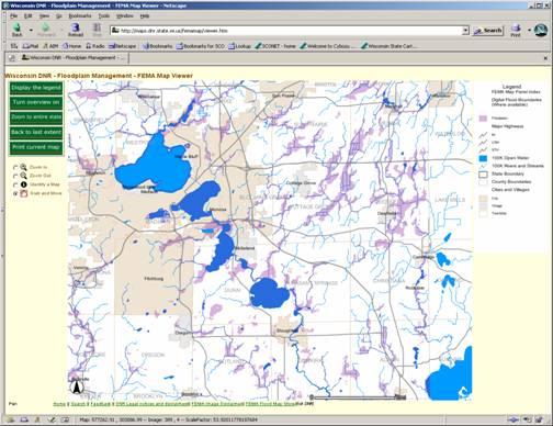 FEMA Map Viewer State Cartographers Office UWMadison - Fema map viewer