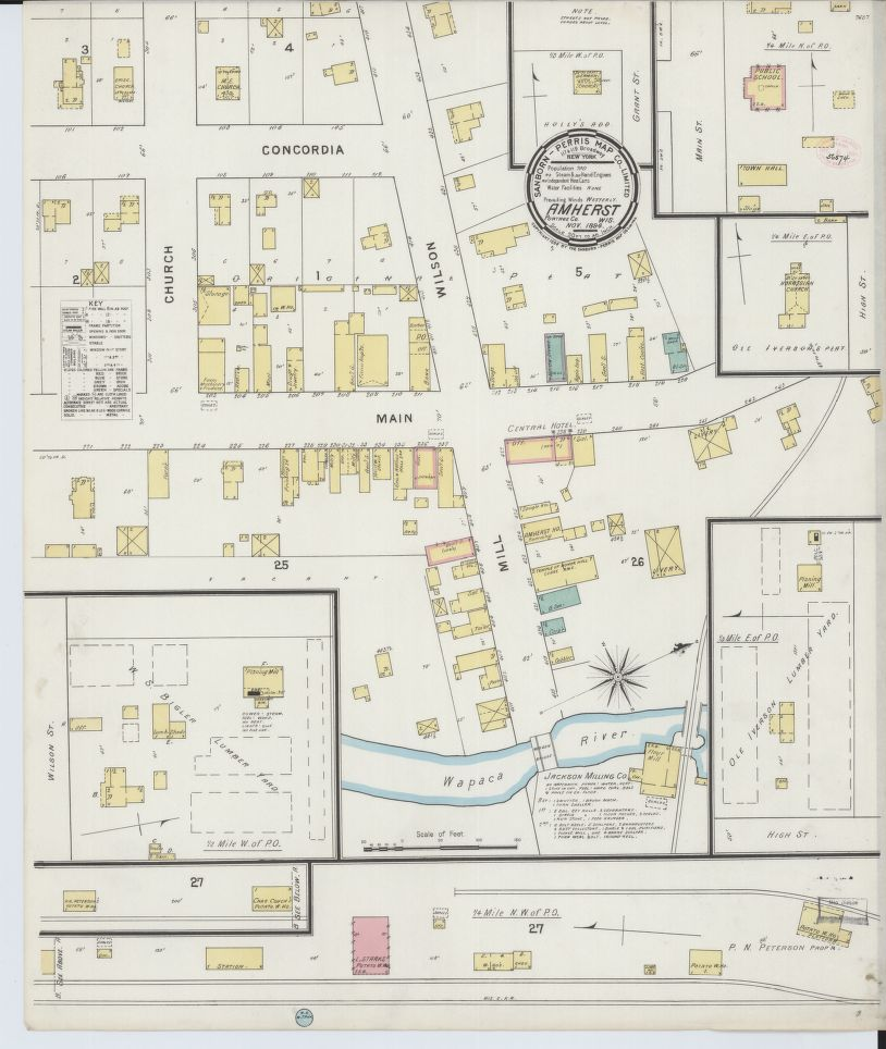 Sanborn Fire Map.Historic Sanborn Fire Insurance Maps State Cartographer S Office