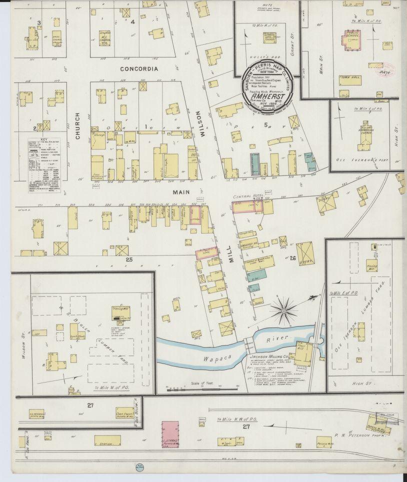 Cedarburg Wisconsin Map.Sanborn Fire Insurance Maps Now Online State Cartographer S Office